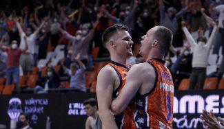 Valencia Basket no falla en la Fonteta y habrá 3º partido ante el Real Madrid