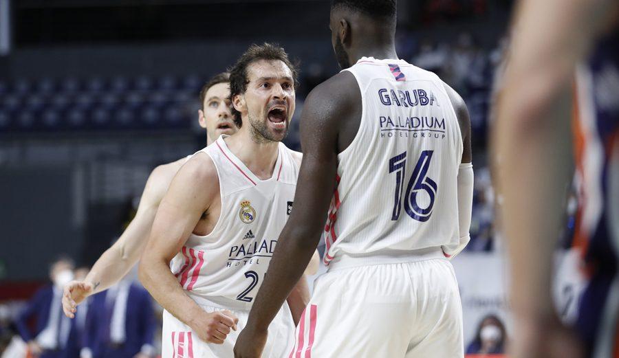 El Real Madrid, primer finalista de la Liga Endesa tras derrotar al Valencia Basket