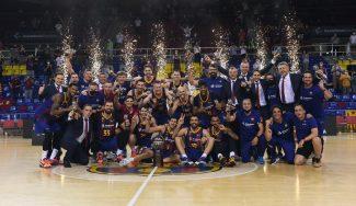 ¡¡El Barça, campeón de la Liga Endesa!! Vence al Real Madrid en la final con un partidazo