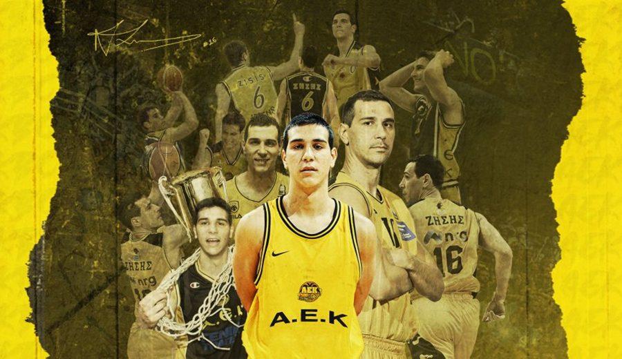 Nikos Zisis anuncia su retirada del baloncesto. Su carta de despedida