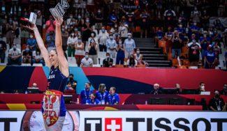 Sonja Vasic se corona en su último baile en Europa: título y MVP