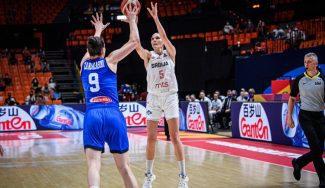 Una desatada Sonja Vasic guía a Serbia en una remontada milagrosa contra Italia