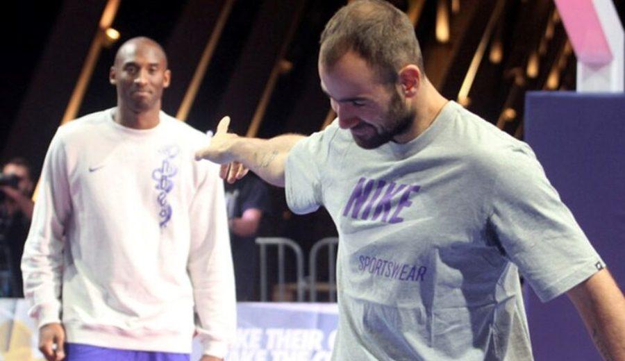 La anécdota de Kobe con Spanoulis. ¿Conocía Bryant al griego cuando este llegó a la NBA?