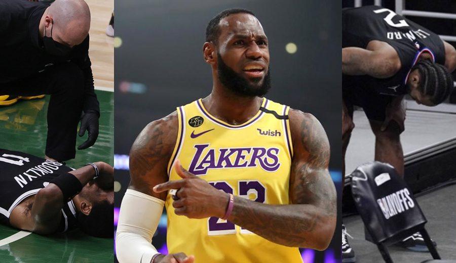 LeBron James carga contra la NBA por las numerosas lesiones en los playoffs