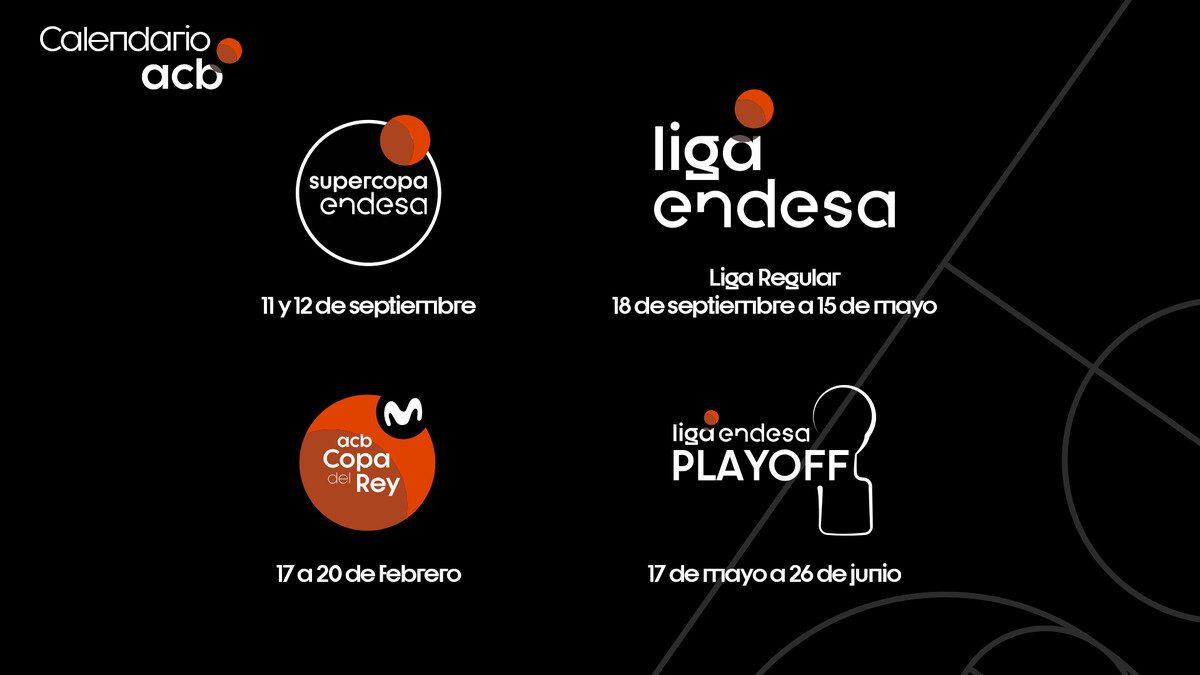 OFICIAL: Fechas clave de la temporadas 21/22 en la Liga Endesa
