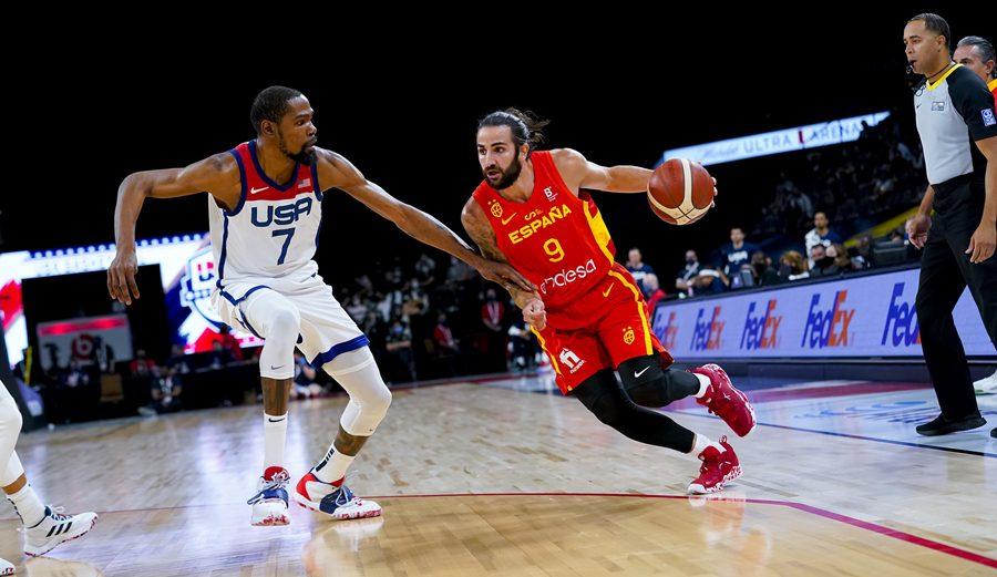 España cierra su preparación para los Juegos Olímpicos cayendo ante Estados Unidos