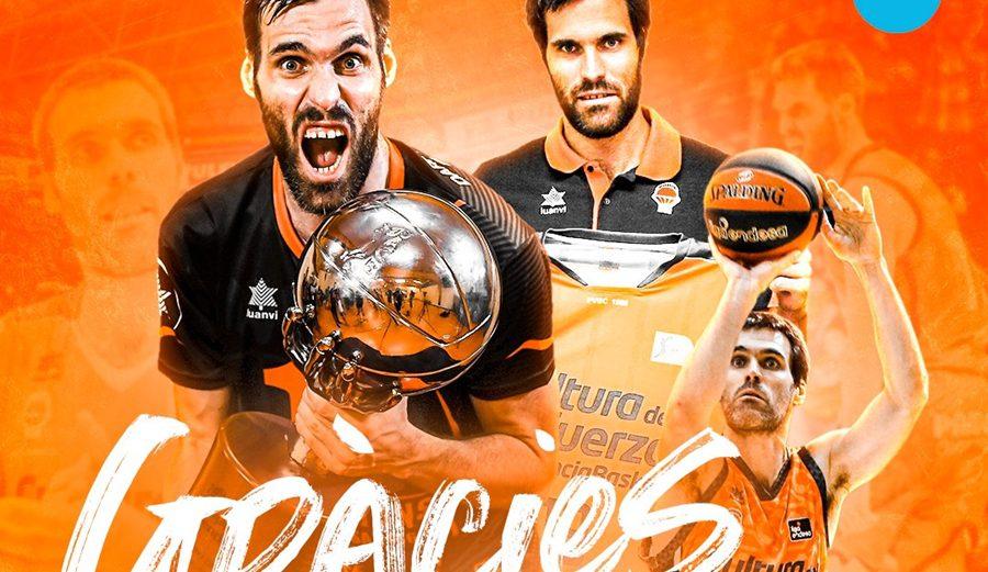 Fernando San Emeterio anuncia su retirada. El comunicado del Valencia Basket