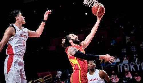 España debuta con victoria en los Juegos Olímpicos con un gran Ricky Rubio