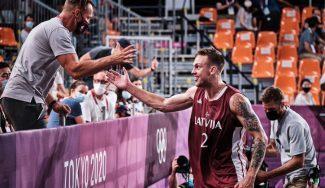 Letonia se lleva el oro olímpico masculino 3×3 tras una igualada final