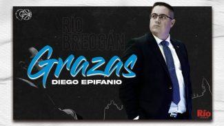 Diego Epifanio no seguirá al frente al Río Breogán en Liga Endesa