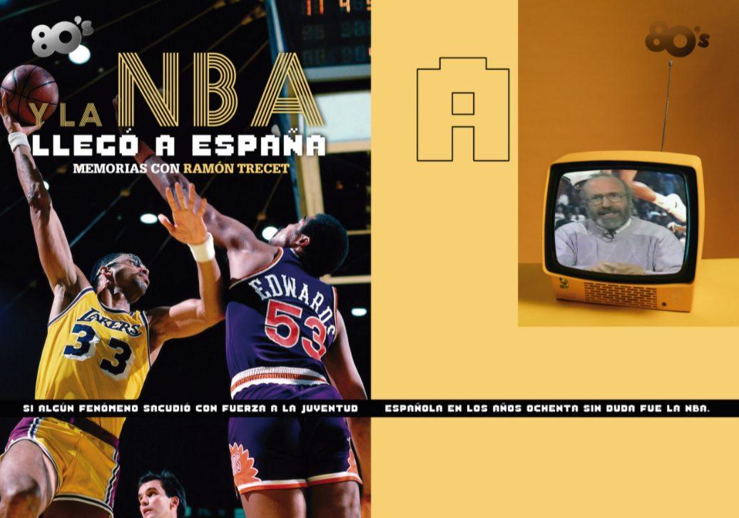 Y la NBA llegó a España. Memorias con Ramón Trecet, por Gonzalo Vázquez