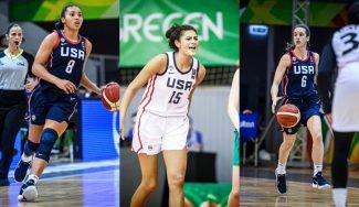 Tres estrellas de Estados Unidos U19. Así son las rivales de España en el Mundial