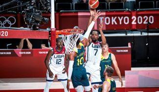 Estados Unidos vence a Australia con un gran Kevin Durant y jugará la final de los JJOO