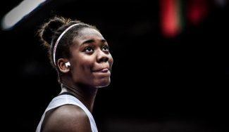 Iris Mbulito deja el baloncesto de manera indefinida