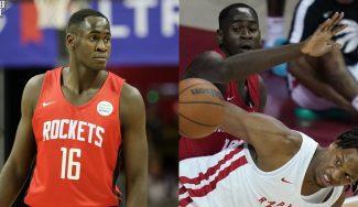 Usman Garuba debuta en la Summer League con los Houston Rockets