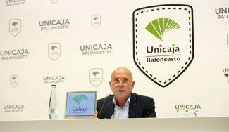 Las palabras del presidente del Unicaja: presupuesto, objetivos, Basketball Champions League…