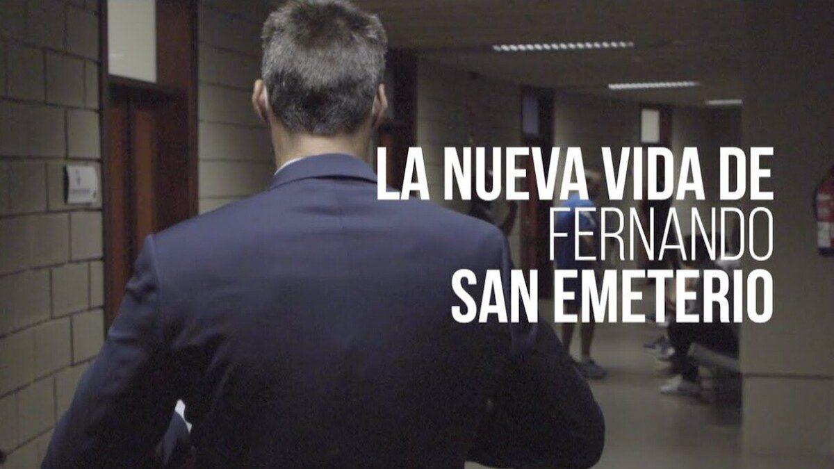 La nueva vida de Fernando San Emeterio tras la retirada (Vídeo)