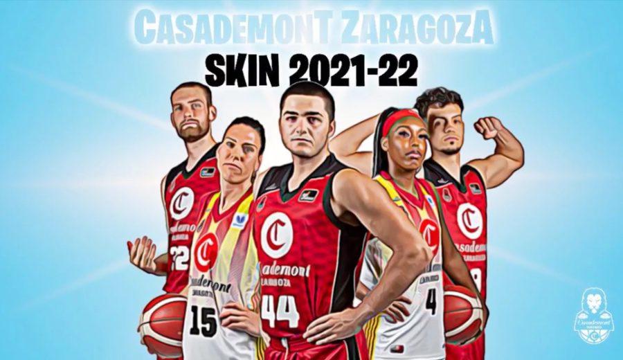 Así presenta Casademont Zaragoza su nueva 'skin' para la temporada 21-22