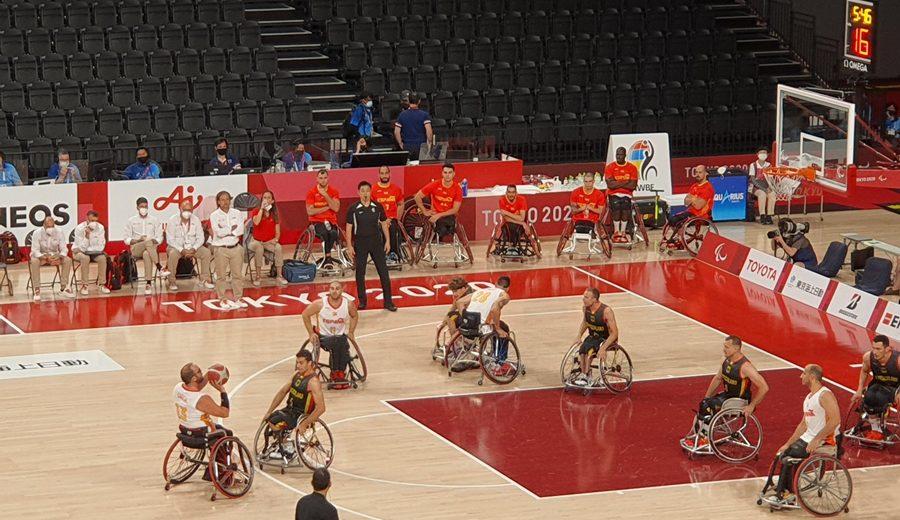 España derrota a Alemania y jugará las semifinales de los Juegos Paralímpicos