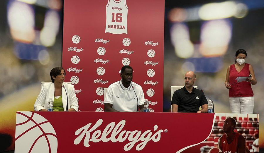 Usman Garuba, nuevo embajador de Kellogg's, habla de sus retos como nuevo jugador de los Rockets