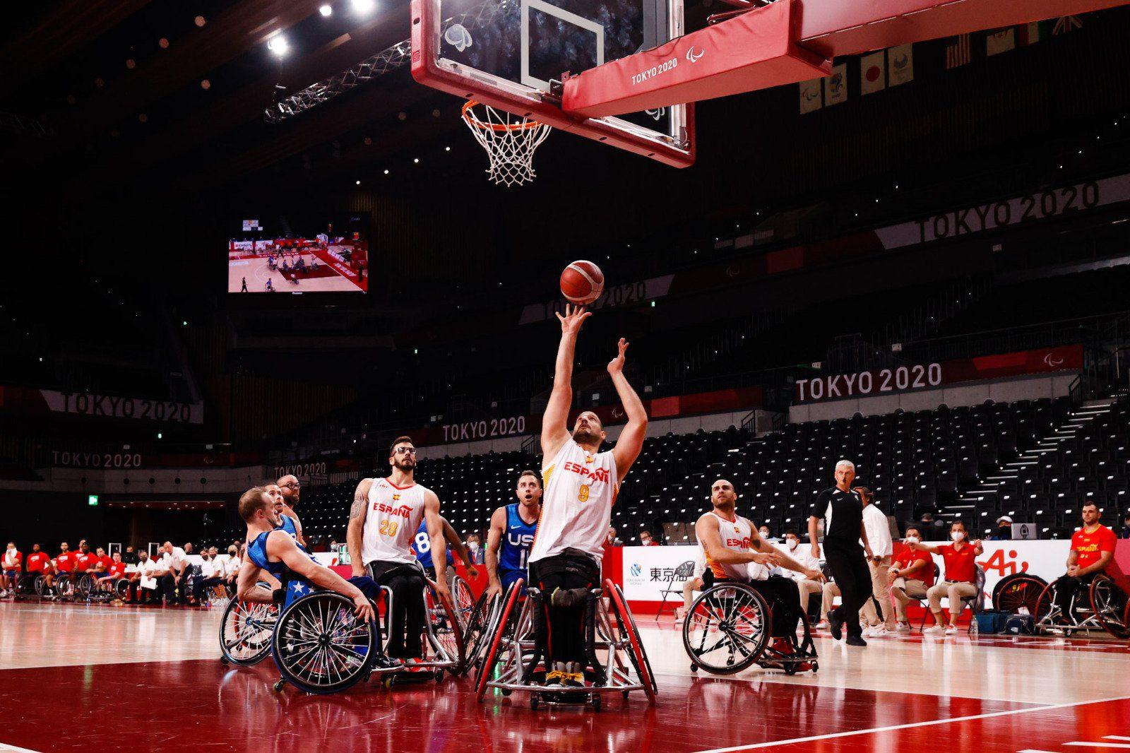 España cae ante Estados Unidos y luchará por el bronce en los Juegos Paralímpicos