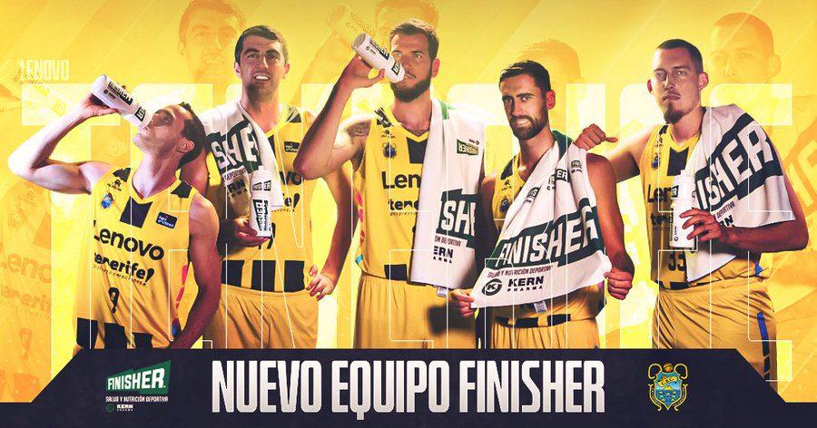 El Lenovo Tenerife, nuevo equipo Finisher