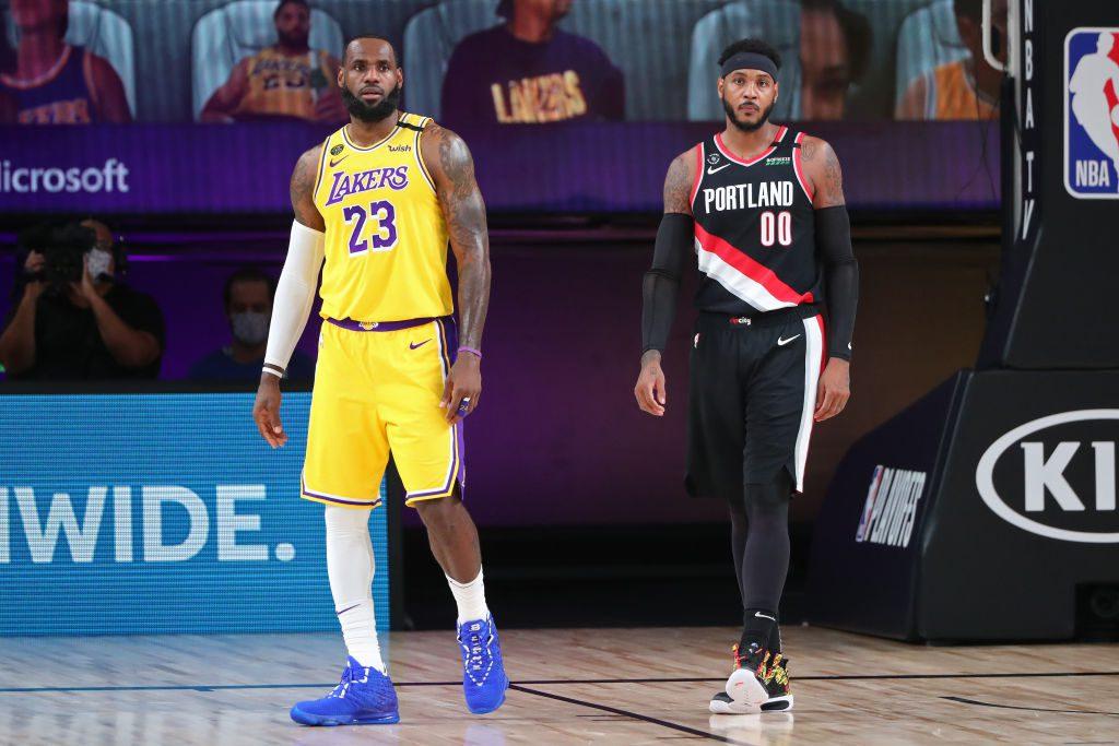 Carmelo Anthony explica cómo Lebron le reclutó para la causa de los Lakers