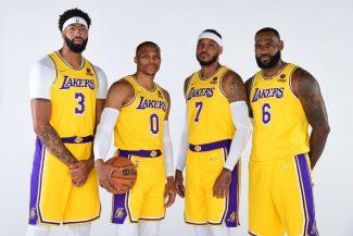 Rondo, Carmelo, Westbrook, Lebron… Así son los renovados Lakers para la temporada 21-22