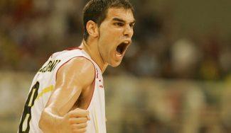 El día que Calderón anotó 13 puntos en 90 segundos contra Lituania y… narrado por Montes (Vídeo)