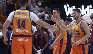 Los problemas de lesiones del Valencia Basket durante la pretemporada y el arranque de Liga Endesa