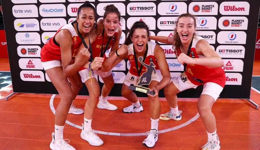 La Selección Española U17 se proclama campeona de Europa 3×3