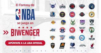 ¡Apúntate a la Liga Oficial de la NBA en Biwenger y consigue grandes premios!