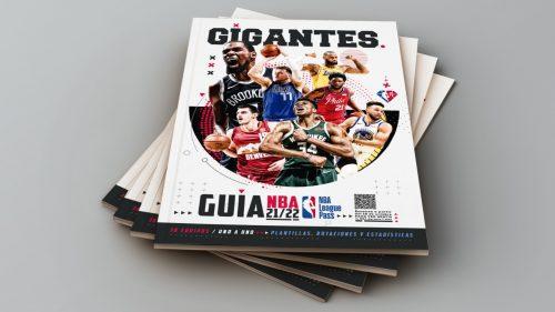 Ya a la venta la Guía NBA Gigantes. Te explicamos cómo conseguirla