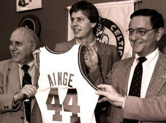 Danny Ainge dejó el baseball para convertirse en leyenda por esta canasta